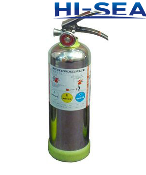 Stainless steel AFFF foam fire extinguisher