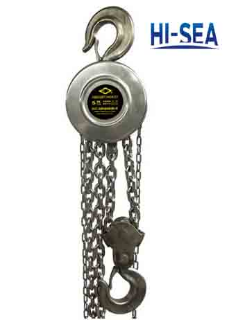 Stainless Steel Manual Chain Block Supplier China Lifting
