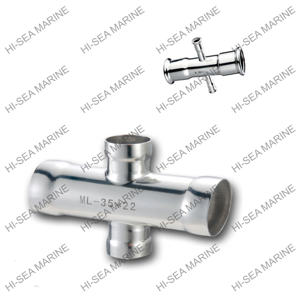 Stainless steel socket weding reducing crosses