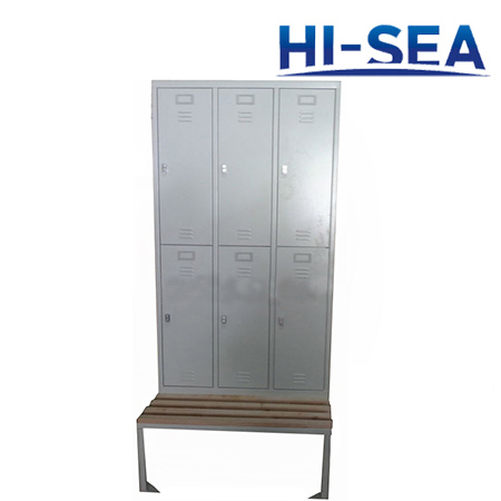 Steel Marine Locker with Bench
