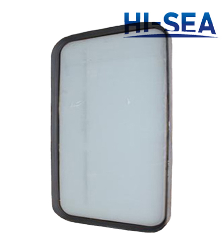 Steel Welded Fixed Rectangular Window for Wheel House