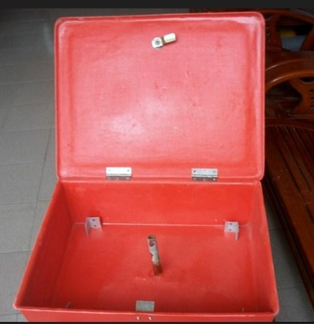 FRP Fire Hose Box without Hose Reel Mounting Bracket