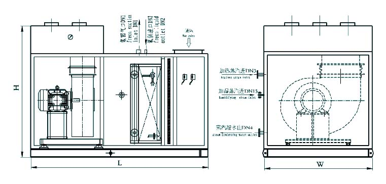 tmu marine direct air handling unit supplier  china marine