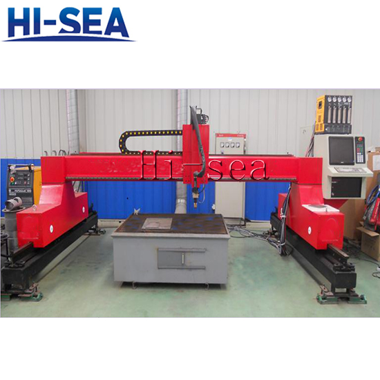 The Third Generation CNC Gantry Style Cutting Machine
