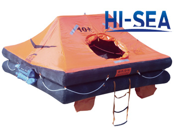 Throw-over Inflatable Life Raft For Fishing Boat