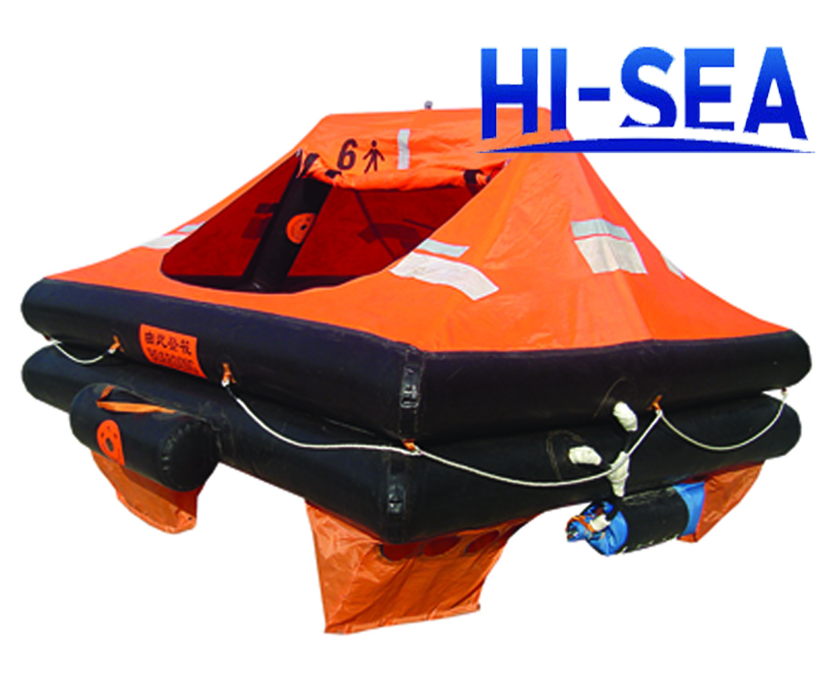 Throw-over Inflatable Life Raft For Yacht