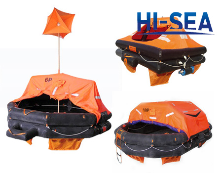 Throw-over Inflatable Liferaft
