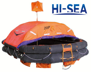 Throw-over Inflatable Liferaft Type A
