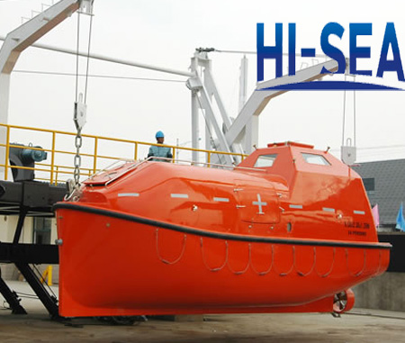 Davit-launched Life Boat