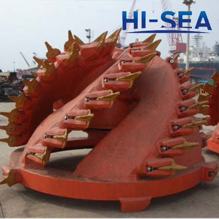 Traditional Type Dredge Cutter Head