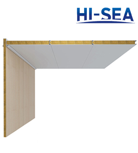 Type A Composite Rock Wool Ceiling Panel