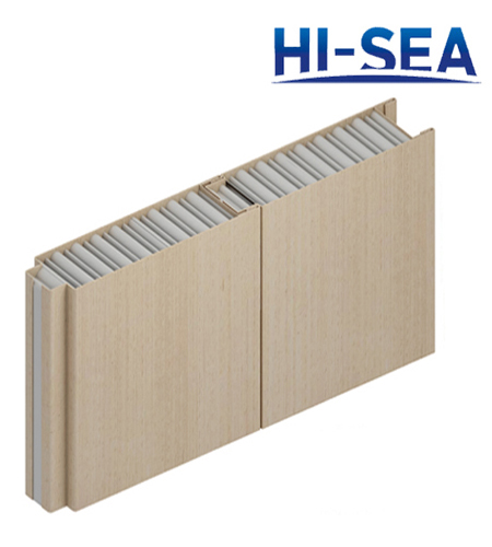 Type A Steel Sheet Composite Aluminum Honeycomb Wall Panel
