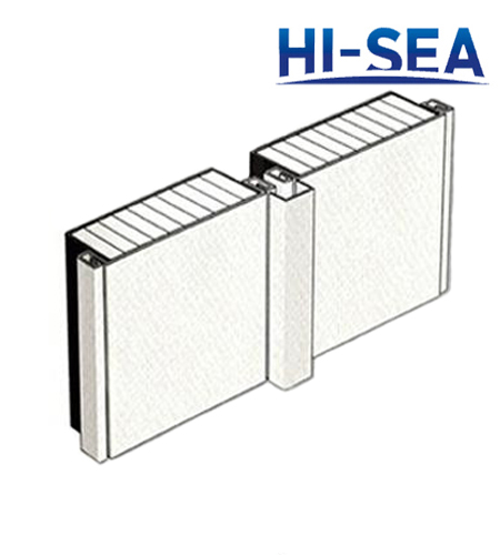 Type C Aluminum Sheet Composite Aluminum Honeycomb Wall Panel