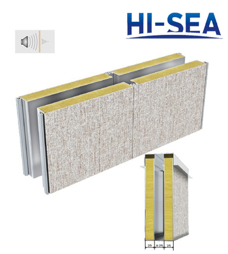 Type C Double-layer Composite Rock Wool Wall Panel