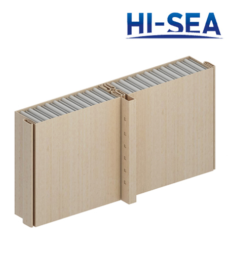 Type C Steel Sheet Composite Aluminum Honeycomb Wall Panel