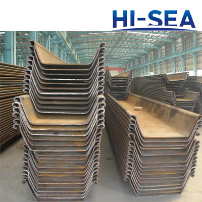 600*210mm U-shaped Steel Sheet Pile