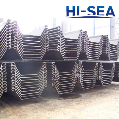 U Type Steel Sheet Pile for Embankment
