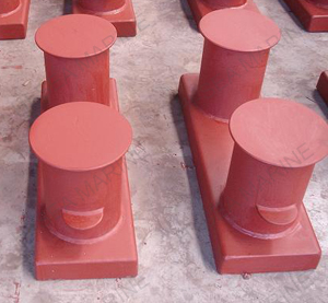 VIS1 Double Bollards