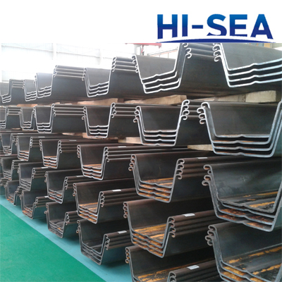 W Type Steel Sheet Pile