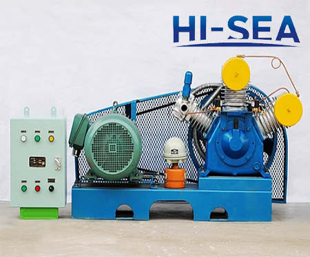 WF Series Piston Type Marine Air Cooling Air Compressor