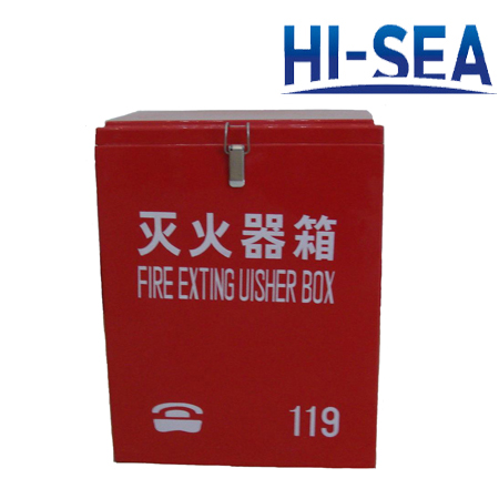 Wall-mounted FRP Fire Extinguisher Box