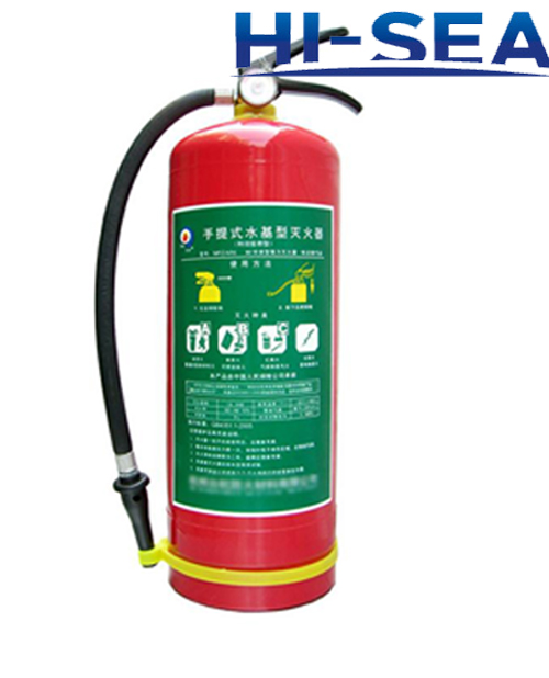 Water fire extinguisher with CE approval