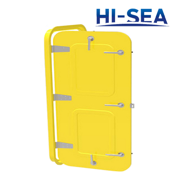 Weathertight Single-Leaf Marine Aluminum Door