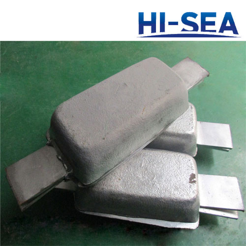 Welding Type Zinc Anode for Ship Hull