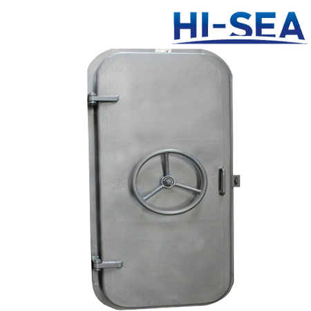 Wheel-Operated Quick Acting Weathertight Door
