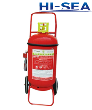 Wheeled water based fire extinguisher
