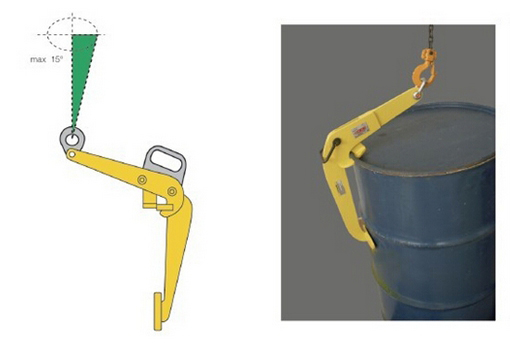 YQC Oil Drum Clamp