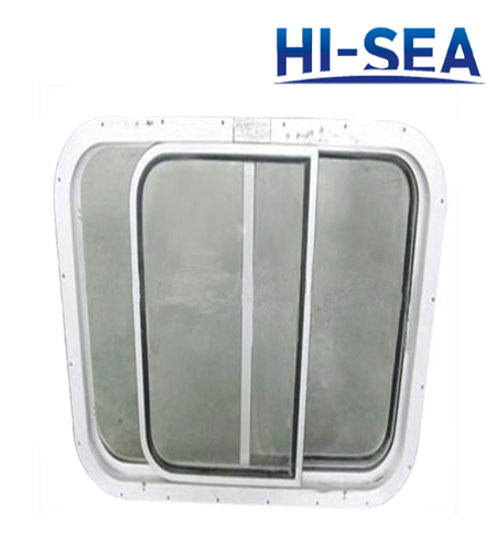 Yacht Aluminum Three Pane Sliding Window