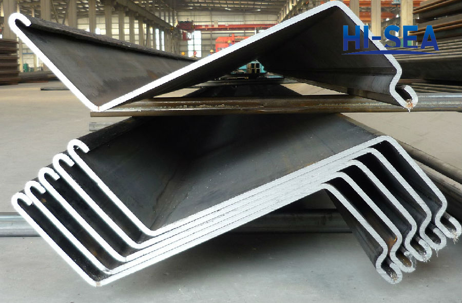 Z Type Cold Formed Steel Sheet Pile