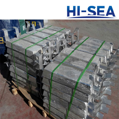 Zinc Anode for Ballast Water Tank