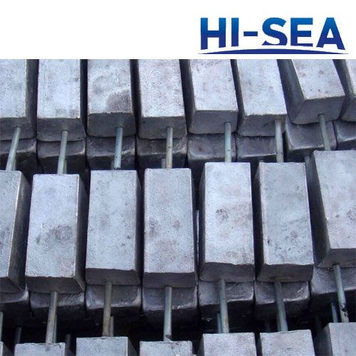 Zinc Anode for Port and Offshore Engineering Facilities