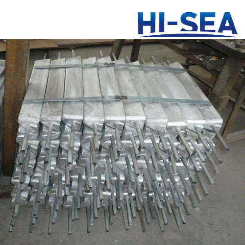 Zinc Anode for Seawater Cooling System