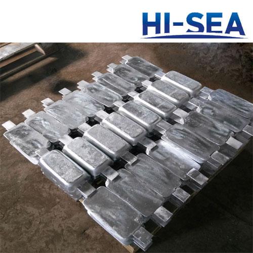 Zinc Anode for Ballast Water Tank Supplier, China Zinc ...