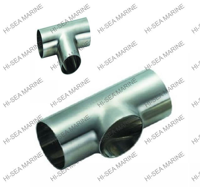 Alloy steel carbon steel reducing tee