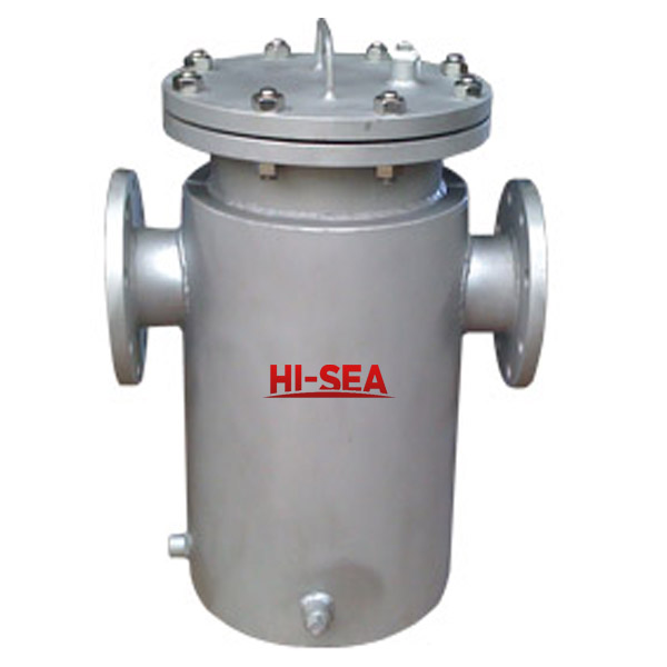 Jacketed Straight Flange Basket Filter