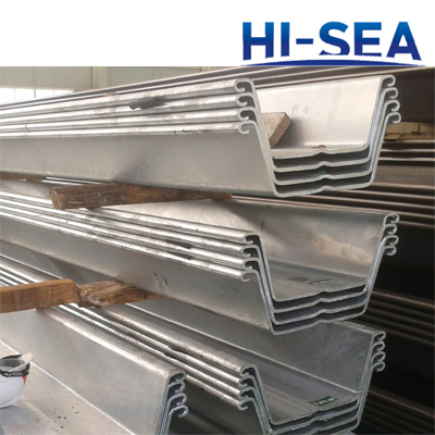 600*200mm Cold Formed Steel Sheet Pile