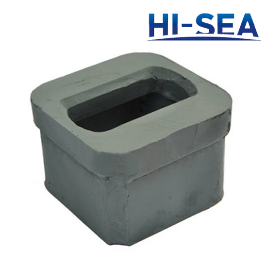 Container Raised ISO Foundation