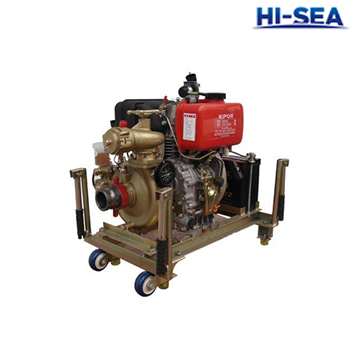 CWY Marine Diesle Engine Fire Fighting Pump