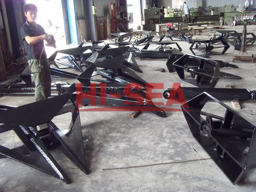 HHP Delta Type Anchor Supplier, China Marine Anchor