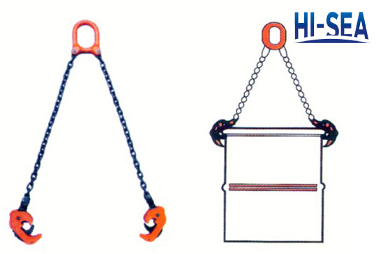 Drum Lifter Chain Sling with Hook