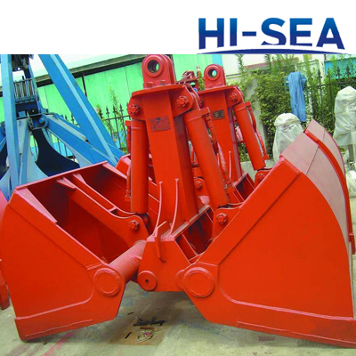 Electric Hydraulic Clamshell Grab for Excavator