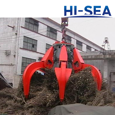 Electric Hydraulic Orange Peel grab