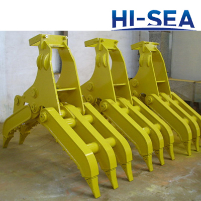 Excavator Hydraulic Wood Grapple