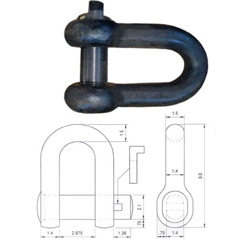 Shackle for Ship
