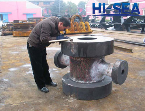 Petroleum Machinery Casting Four-way Pipe Fitting