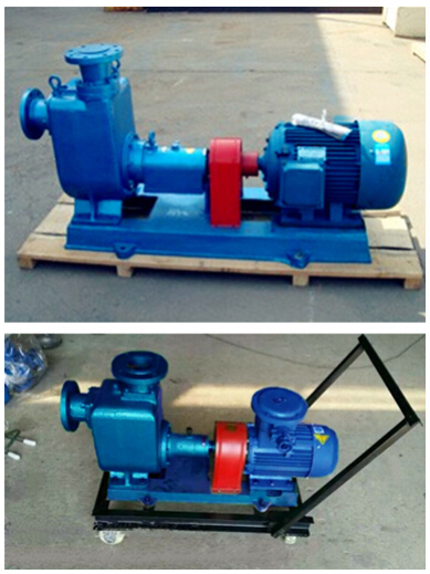WZW Marine Self-priming Polluted Water Centrifugal Pump